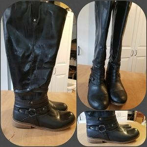 X wide calf boots, size 10